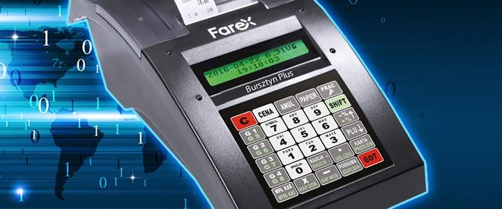 Nowa homologacja kasy Farex Bursztyn. Co się zmieniło?